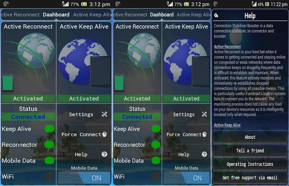 gambar connection stabilizer penguat sinyal android